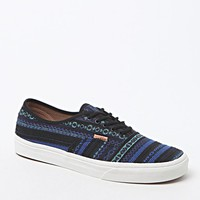 Vans Cali Collection Authentic Italian Weave Shoes - Mens Shoes - Blue