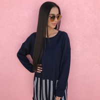 VIENNA SWEATER- NAVY