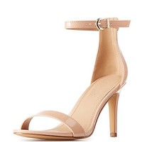 Patent Ankle Strap Sandals | Charlotte Russe