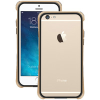 "Macally Iphone 6 4.7"" Flexible Frame Case (metallic Champagne)"
