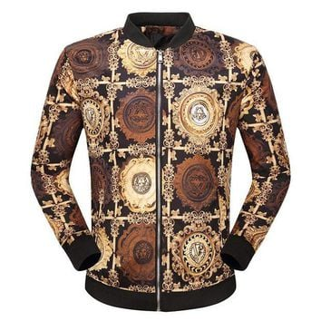 ONETOW Boys & Men Versace Cardigan Jacket Coat