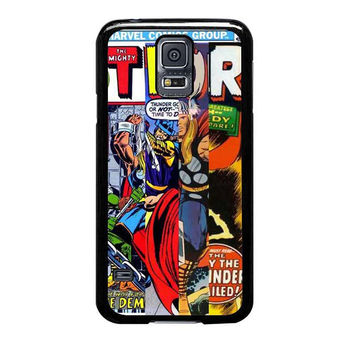 thor marvells comic cover samsung galaxy s5 s3 s4 s6 edge cases