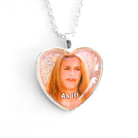 As If! Clueless Necklace / Alicia Silerstone 90s Necklace
