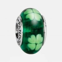 Women's PANDORA 'Irish' Murano Glass Charm