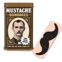 Cool Stuff - Accoutrement Mustache Bandages