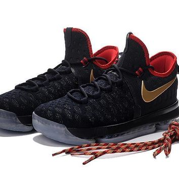2017 Nike Zoom KD 9 Kevin Durant ¢ù Olympic Gold£¨USA£© Men's Basketball Shoes