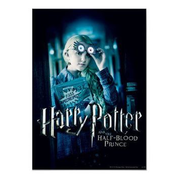 Luna Lovegood Posters from Zazzle.com