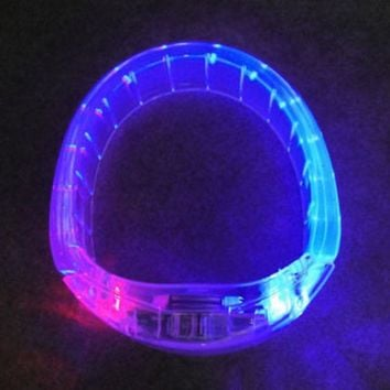 CREYUG3 Jewelry Shiny Stylish Gift New Arrival LED Lightning Plastic Creative Ring [4915331844]