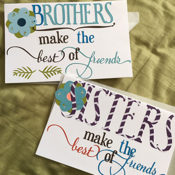 AOCC Sister or Brother Cards