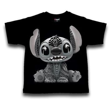 "PST Gear ""Stitch"" Kids Black T-Shirt"