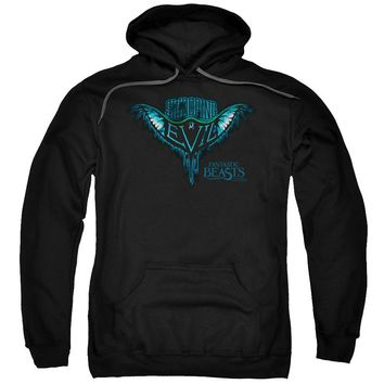 Fantastic Beasts - Swooping Evil Adult Pull Over Hoodie Officially Licensed Apparel