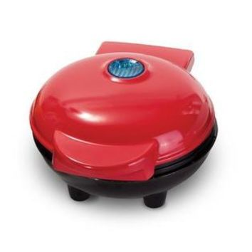 Dash Dash DMW001RD Waffle Mini Maker, Small, Red