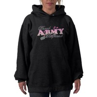 Proud Army Girlfriend(pink) Hoodie from Zazzle.com