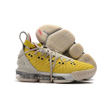 "Nike LeBron 16 HFR ""Bright Citron"" Basketball Shoes - Best Deal Online"