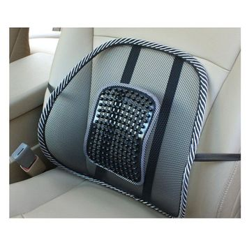 Car Seat Office Chair Back Cushion Back Lumbar Massage Mesh Ventilate Cushion Pad Pain Relief Seat Posture Corrector V167