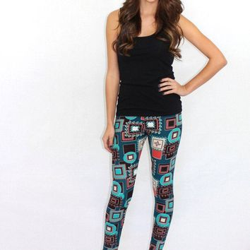 The Front Runner Abstract Leggings