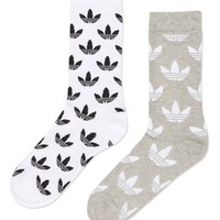 Thin Crew Socks Multipack by Adidas Originals | Topshop