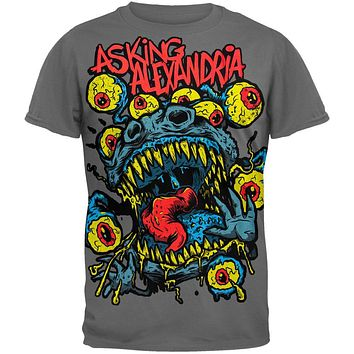 Asking Alexandria - Eyeball Monster Soft T-Shirt