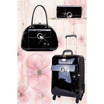 Moonshine 3PC Set | Luxury Women Overnight Bag Set
