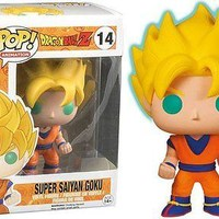 Funko Pop Animation: Dragon Ball Z - Super Saiyan Goku Exclusive Vinyl Figure