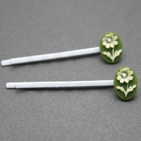 Daisy Flower Decorative Bobby Pins