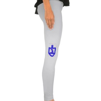 Dreidel Hanukkah leggings