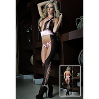 On Sale Cute Hot Deal One-piece Hollow Out Underwear Sexy Sleepwear Exotic Lingerie [6596726851]