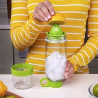Zing Anything: Citrus Zinger, Best Reusable Water Bottle - Green