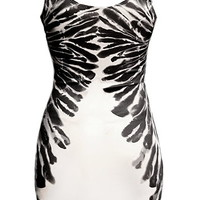 Feather Facade Dress | Printed Bodycon Dresses | Rickety Rack