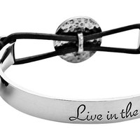 Live in the Now Bangle Bracelet