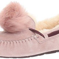 UGG Women's Dakota Pom Moccasin  UGG slippers women