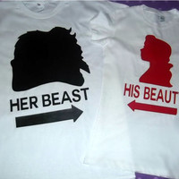 Beauty And The Beast Couples Shirts