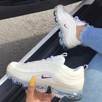 KUYOU NIKE AIR VAPORMAX 97 CREAM (WOMEN SIZES)