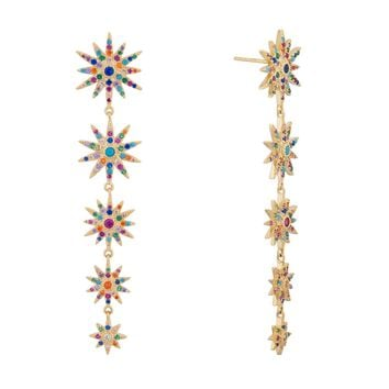Starstruck Earrings- Rainbow