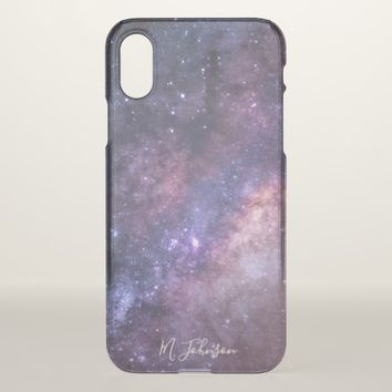 Star Dust Personalized iPhone X Case