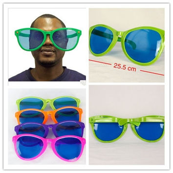 Fashion Funny Oversized Sunglasses Big Frame Cool Party Glasses Soccer Fans Eyeglass