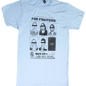 Foo Fighters Cubby Bear Chicago Soft T-Shirt