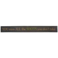 Missed Shots Tin Sign | Shop Hobby Lobby