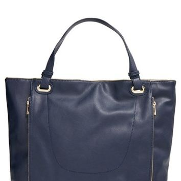 Junior Women's Emperia 'Meira' Faux Leather Tote