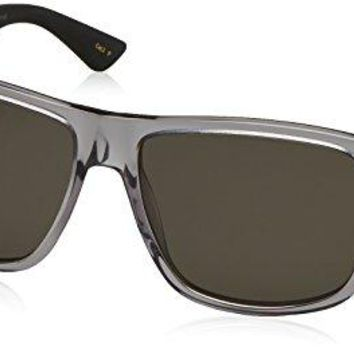 Gucci GG0010S-004 Rectangular / Square Sunglasses Grey/Grey Lens