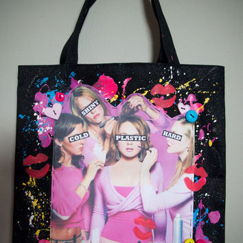MEAN GIRLS - Cold, Shiny, Hard, Plastic Tote Bag