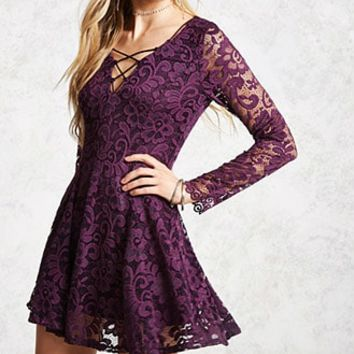 Chantilly Lace Swing Dress