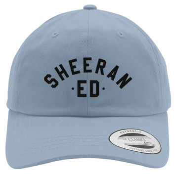Ed Sheeran The A Team Embroidered Cotton Twill Hat