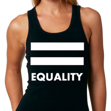 LGBT TANK Top Equality Pride - Lgbt T-shirt - Gay T-shirt - Lgbt Pride - Christmas Gift - Women - ALL Gay Tees