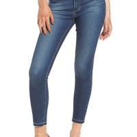 Articles of Society Heather High Waist Crop Skinny Jeans (Bilbao) | Nordstrom