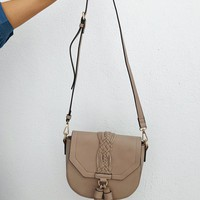 Time After Time Purse: Taupe