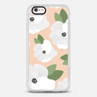 Peach Floral iPhone 6s case by Allyson Johnson | Casetify