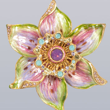 Sonia Daffodil Pin - Jay Strongwater