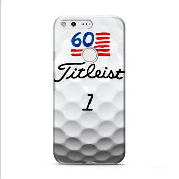 Titleist Golf Ball Print Google Pixel 2 Case