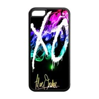 Attractive The Weeknd XO Theme Back TPU cases for Apple iPhone 5c